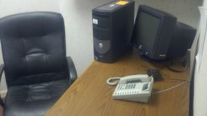 1 desk on suite 202